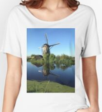 Historic Windmill Women's Relaxed Fit T-Shirt