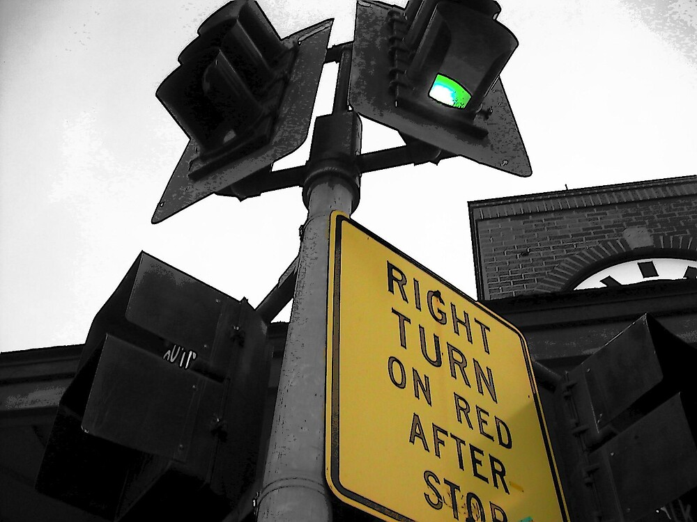 stop light by Jaclyn Clemens