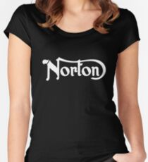 norton Women's Fitted Scoop T-Shirt
