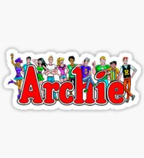 Archie Comic Book Gang Sticker