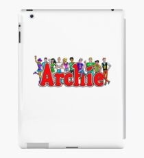 Archie Comic Book Gang iPad Case/Skin