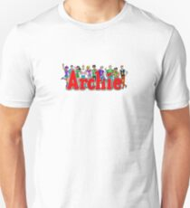 Archie Comic Book Gang Unisex T-Shirt