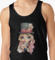 Mad Hatter Alice Tank Top