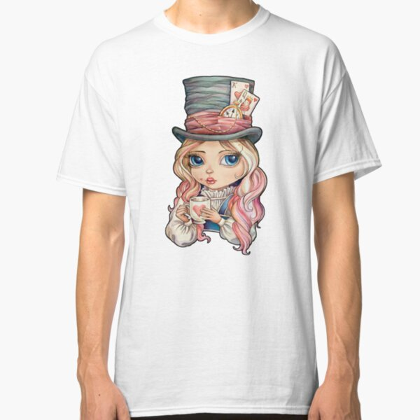 Mad Hatter Alice Classic T-Shirt