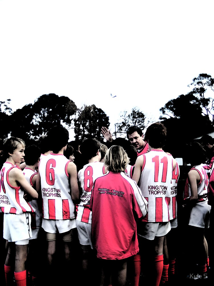 Junior Footy. by Kyle S