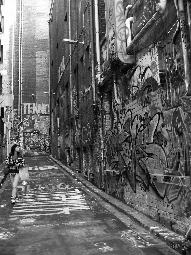Hosier Lane. by Kyle S