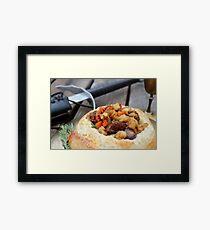 Winterfell Beef Stew Framed Print