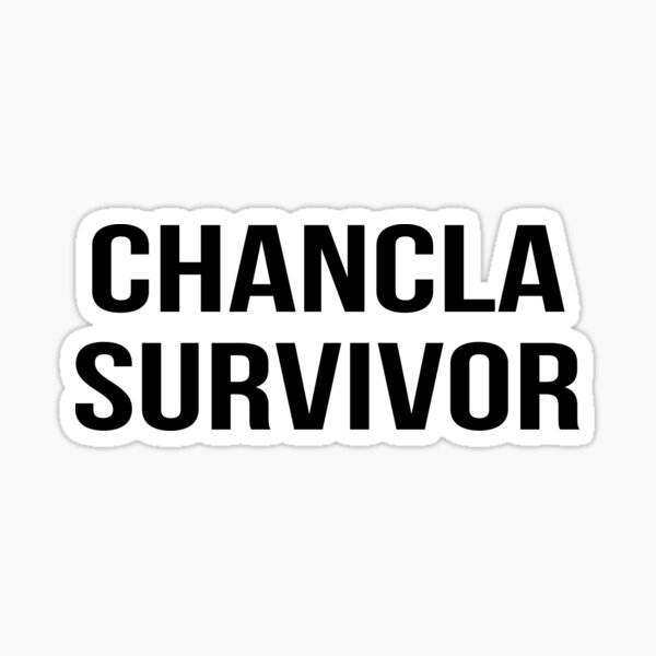 chancla survivor Sticker