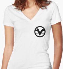 V art Women's Fitted V-Neck T-Shirt