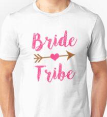 Bride Tribe Bridesmaid women's tank shirt  Unisex T-Shirt