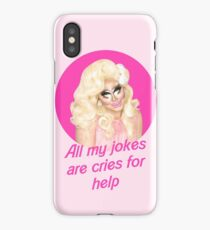Trixie Mattel Jokes - Rupaul's Drag Race iPhone Case/Skin