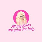 Trixie Mattel Jokes - Rupaul's Drag Race by veronicafarias