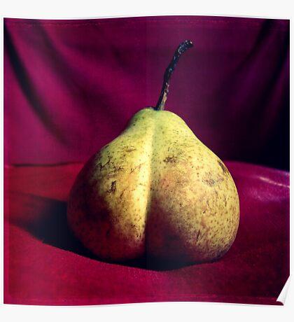 Pear Derrière Poster
