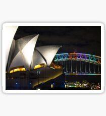Opera House and Harbour Bridge Sticker