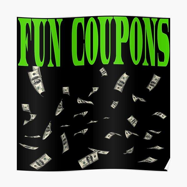 Fun Coupons  Poster