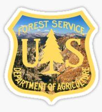 U.S. Forest Service Mountain Emblem  Sticker