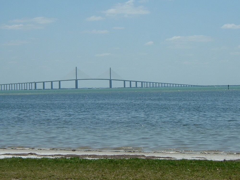 skyway bridge st pete fl by lopmanu