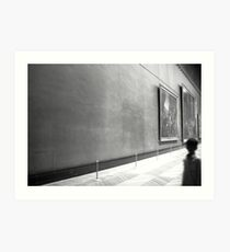 Empty Space in The Louvre Art Print