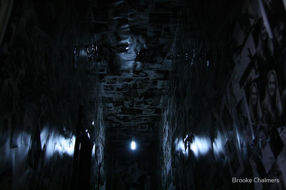 Blue Hallway 2 by Brooke Chalmers