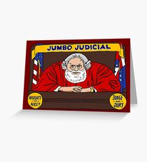 Jumbo Judicial Greeting Card