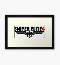 Sniper Elite 4 Framed Print