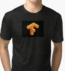 Tensorflow Clear Logo Tri-blend T-Shirt