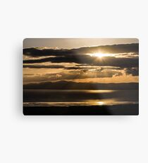 Donegal Sunset Metal Print