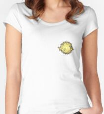 OpenBSD clear logo Women's Fitted Scoop T-Shirt