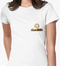 OpenBSD Logo Women's Fitted T-Shirt