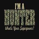 Hunter Superpower Camo Design by EthosWear