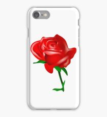 Red rose vector iPhone Case/Skin