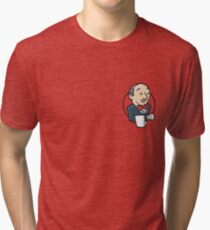 Jenkins Premium Sticker Tri-blend T-Shirt