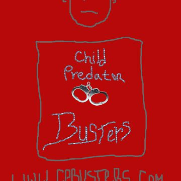 Child Predator Busters T-Shirt by CPBusters