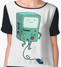 Adventure time BMO beemo Chiffon Top
