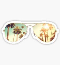 Pegatina Gafas LA