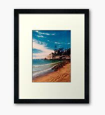 Balding Bay - Magnetic Island Framed Print