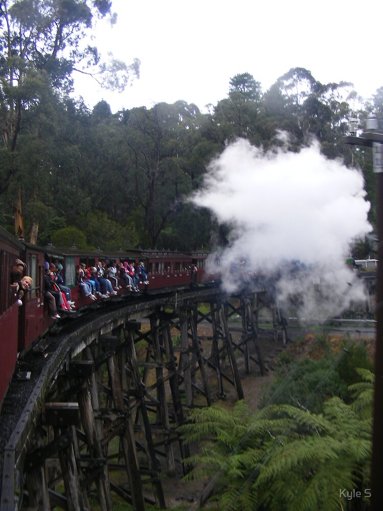 Puffing Billy. by Kyle S