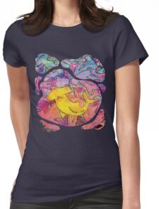 Claustrophobia Womens Fitted T-Shirt