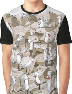 Seagulls! Graphic T-Shirt