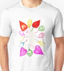 Inflatable Colorful Balloons 2 Unisex T-Shirt