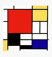 Mondrian  Photographic Print