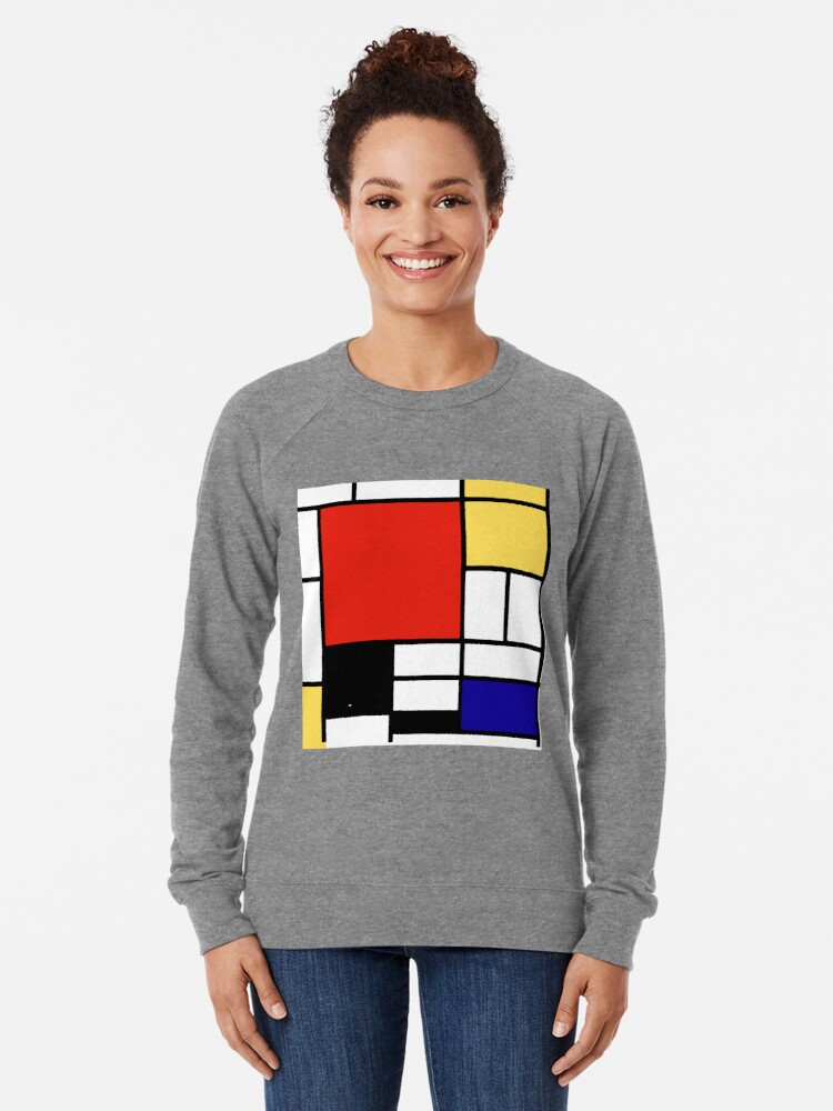 Alternate view of Mondrian  Lightweight Sweatshirt