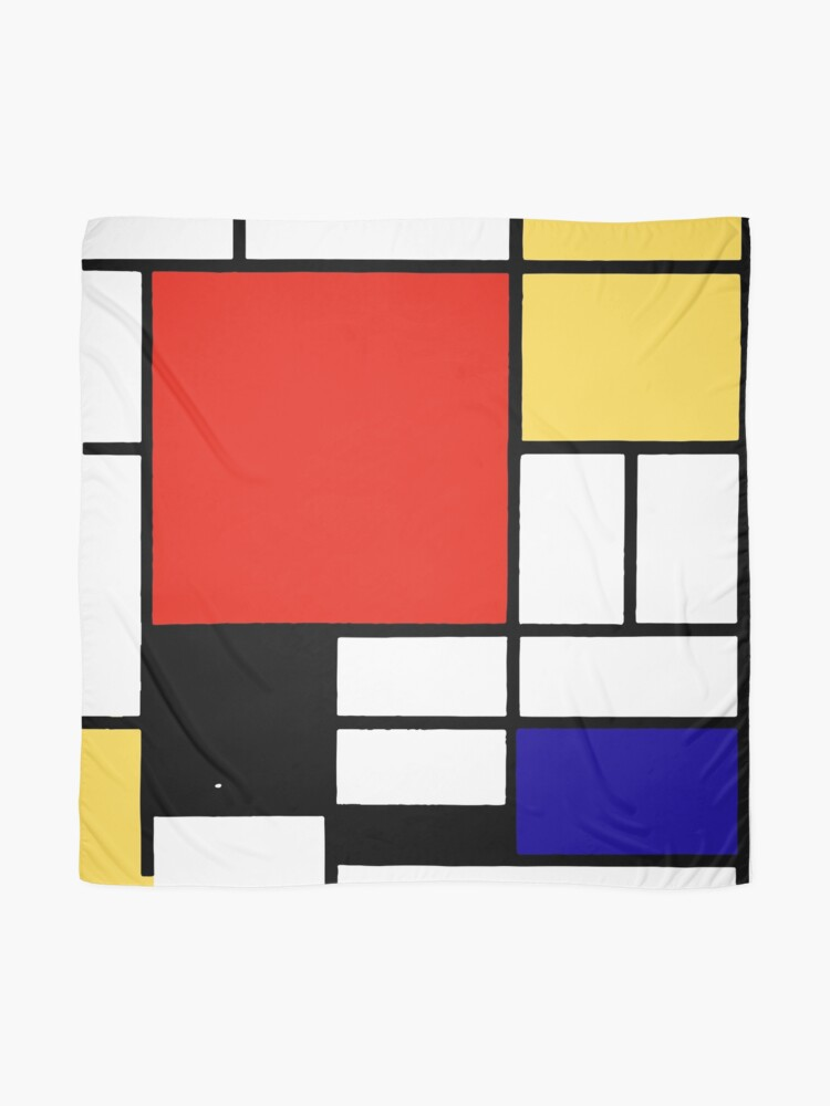 Alternate view of Mondrian  Scarf