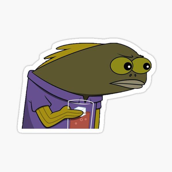 Spongebob Tom meme Sticker
