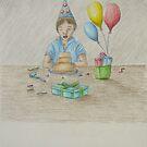 Birthday boy by thuraya arts