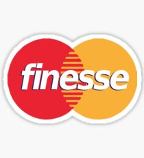 VISA FINESSE SHIRT Sticker