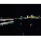 Brisbane Cityscape by Paul Cotelli