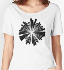 Abstract Motif Women's Relaxed Fit T-Shirt