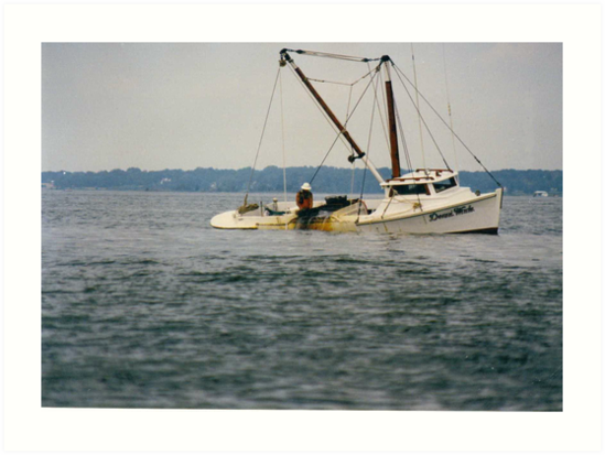 oyster boat by mwfoster