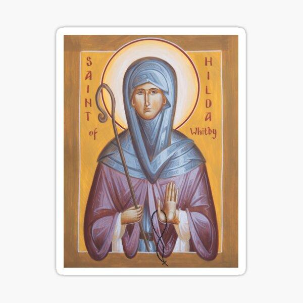St Hilda of Whitby Sticker